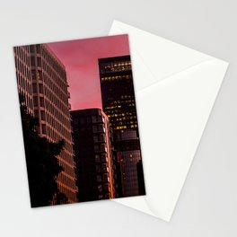 Skyscapes in Los Angeles Stationery Cards