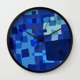 I'm Blue Wall Clock
