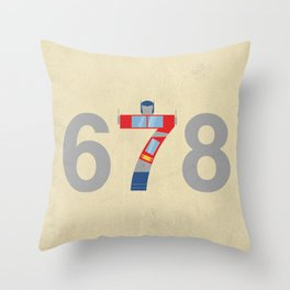 Prime Number Throw Pillow