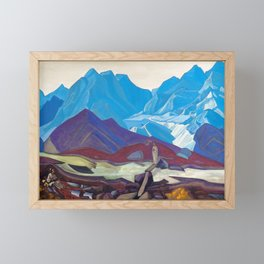 Nicholas Roerich - From Beyond - Digital Remastered Edition Framed Mini Art Print