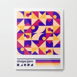 shape jam nº001 Metal Print