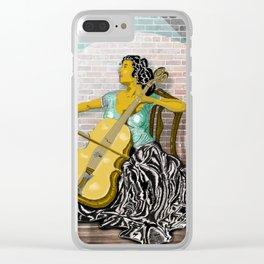 Mariah Clear iPhone Case