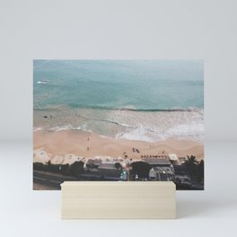 Aerial Mirissa Beach, Sri Lanka Mini Art Print