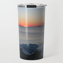 Late winter -early spring sunset Travel Mug