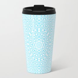 Cyan Kaleidoscope 2 Travel Mug
