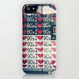 Nostalgia StreetPosters iPhone Case