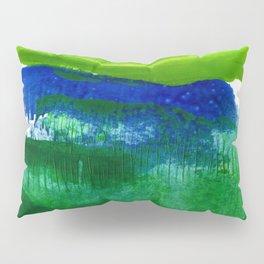 Encaustic Abstract No.27A by Kathy Morton Stanion Pillow Sham