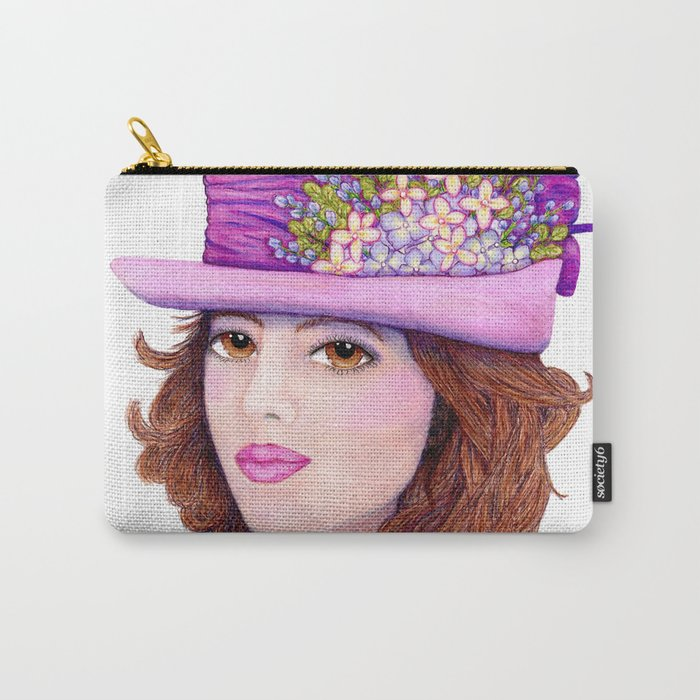 Doe-Eyed Girl by Jane Purcell Carry-All Pouch