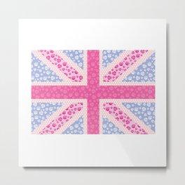 English Rose Metal Print