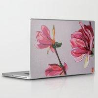 magnolia Laptop & iPad Skins featuring Magnolia by Marjolein