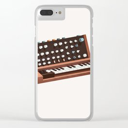 Lo-Fi goes 3D - Generation Synth Clear iPhone Case