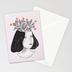 Flower Head II Stationery Cards