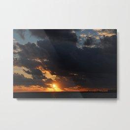 Bahama Sunset Bliss Metal Print