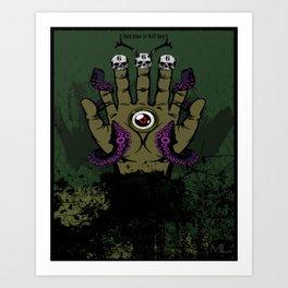 The Helping Hand Art Print