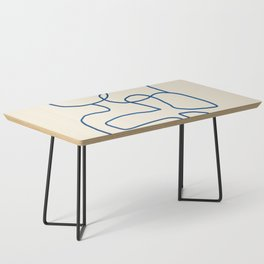 Abstract line art 16 Coffee Table