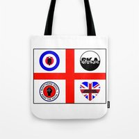 60s Tote Bags featuring Brit music 60s 70s by MasterChef-FR