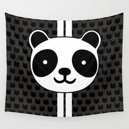 Racing Panda Wall Tapestry