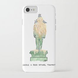 George W. Bush National Monument iPhone Case