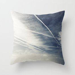 chemtrails Throw Pillow