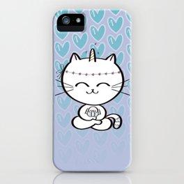 Lily Unicorn Kitty iPhone Case