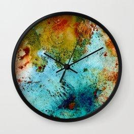 Organic Abstraction Wall Clock