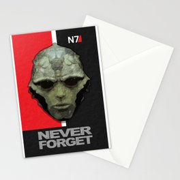 NEVER FORGET - Thane Krios - Mass Effect Stationery Cards