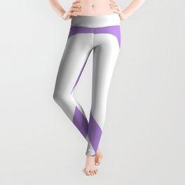 Peace (Lavender & White) Leggings