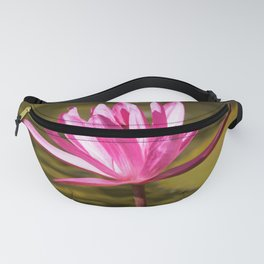 Peace & Hope via Waterlily by Reay of Light Fanny Pack