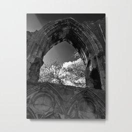 The York Abbey, St Marys Metal Print