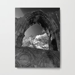 The York Abbey, St Marys Metal Print