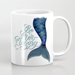 Be Mer-Mazing Mermaid Tail Coffee Mug