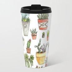 Potted Succulents Travel Mug