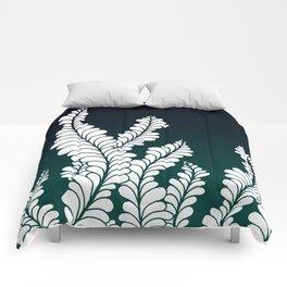 Aqua Nocturnae In Color Comforters