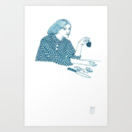 Eve Rossetti Art Print