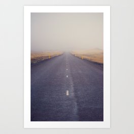 Nowhere Road Art Print