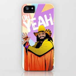 Straight Savage iPhone Case