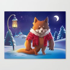 Little Werewolf Canvas Print