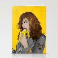mac Stationery Cards featuring Mac Gie by Edu Gerbi