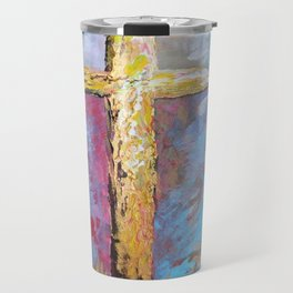 Colors of the Cross Travel Mug