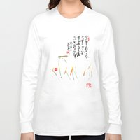 orchid Long Sleeve T-shirts featuring Orchid by Leo Wang