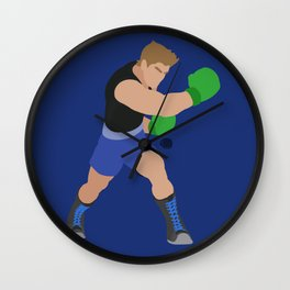 LITTLE MAC(SMASH)BLONDE Wall Clock