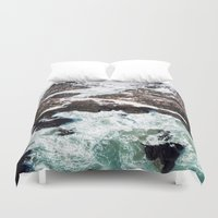 Sea and Mountains Duvet Cover