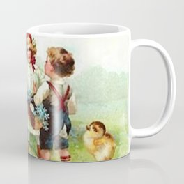 Vintage Easter Party Coffee Mug
