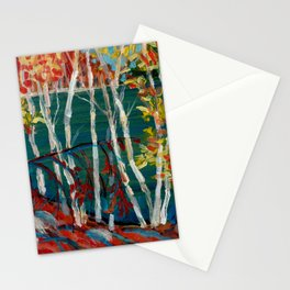 In the Northland / Dennis Weber / ShreddyStudio Stationery Cards