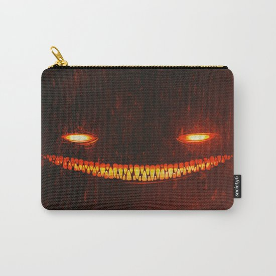 Smile (Red) Carry-All Pouch