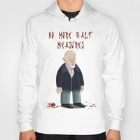 mike wrobel Hoodies featuring Mike Ehrmantraut by Sloe Illustrations