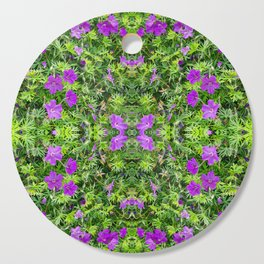 "TRUE SPECIE HARDY GERANIUM ""TINY MONSTER"" Cutting Board"