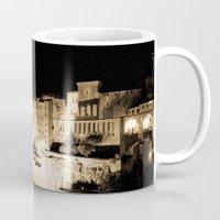 medieval Mugs featuring Medieval Night by Schwebewesen • Romina Lutz