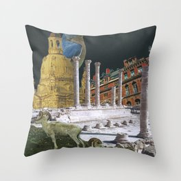 Birdie Recognizes All Civilizations Must Fall Throw Pillow