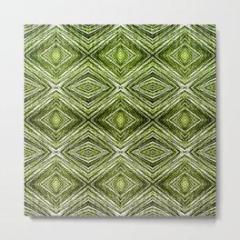 Memories of Woven Grass, Verdure Metal Print